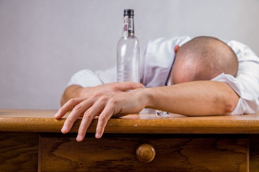 drunk man