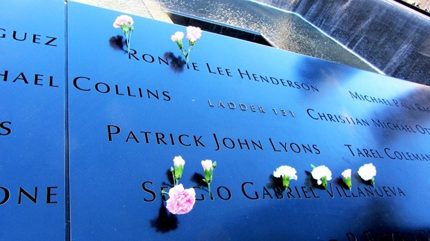 A 911 memorial which later led to the emergence of the Patriot Act