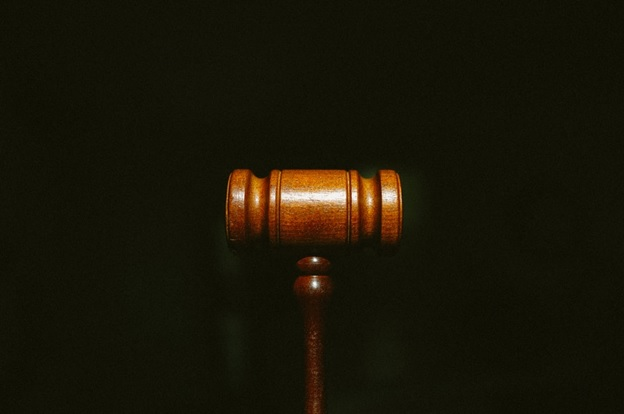 A gavel signifying court orders