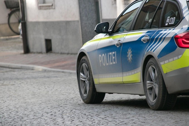 a patrol car