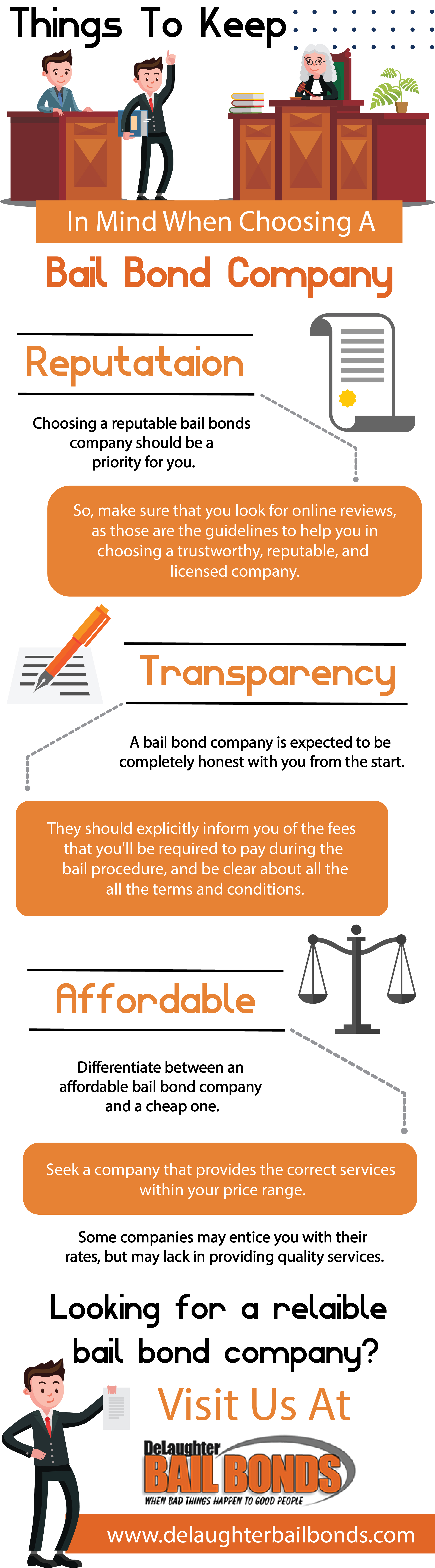 Things To Keep In Mind When Choosing A Bail Bond Company