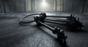 set of skeleton keys and jail cells